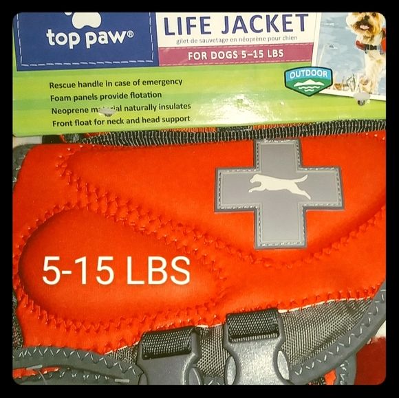Top Paw Other - Doggie life vest